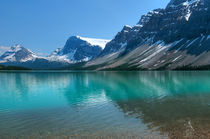 Bow Lake. by Christine Fitzgerald
