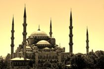 Blue Mosque, Istanbul by Eva-Maria Steger