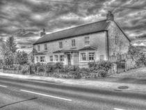 Old Pub Rufforth The Buck Inn by Allan Briggs