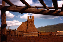 San Geronimo  Ruins at Taos Pueblo von Kathleen Stephens
