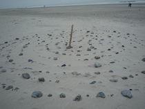 Spirale am Strand by Silke Bicker