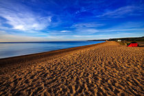 Slapton Sands at Dawn by Louise Heusinkveld