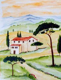 Toskana-Stille und Harmonie  by Christine Huwer