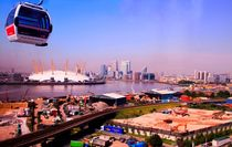 Emirates Cable Car Skyline by David J French