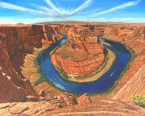 Horseshoe Bend, Colorado River, Arizona by Richard Harpum