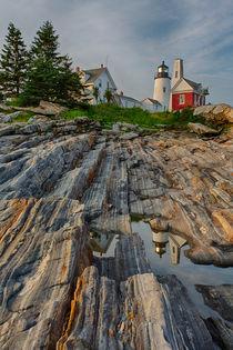 Pemaquid Point Light Station by David DesRochers