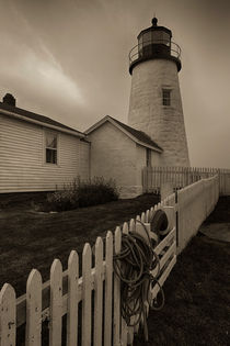 Pemaquid Point Light Station by David DesRochers