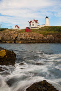 Cape Neddick (Nubble) Lighthouse by David DesRochers