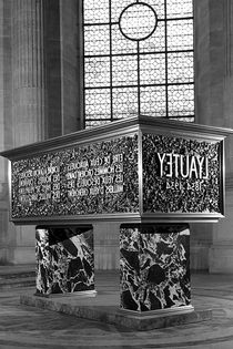 BW France Paris Marshal's Lyautey Tomb 1970s by blackwhitephotos