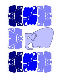 Elephants by Borja Panadero