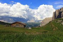 Bergpanorama by Wolfgang Dufner
