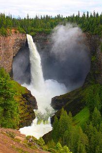 Naturwunder Wasserfall von Marita Zacharias