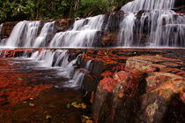 Jasper Falls, Canaima National Park by Raul Sojo