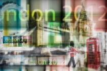 London - Go for Gold - Collage by hannes cmarits