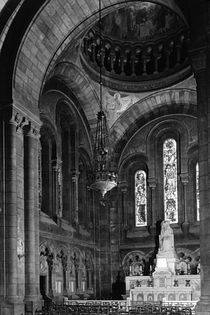 BW France Paris sacre Coeur basilica virgin chapel 1970s by blackwhitephotos