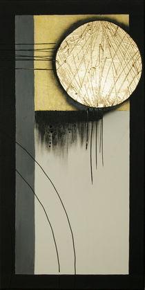 Abstrakt ohne Titel (zweites Bild - Kreis) von Lidija Kämpf