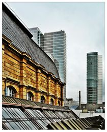 auf dem Dach der Börse II von Frank Wöllnitz