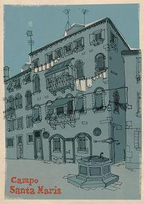 Campo Santa Maria, Venezia von Bjoern Altmann