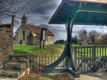 Askham Bryan Church by Allan Briggs