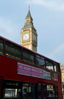 Big Ben and red London Bus von RicardMN Photography