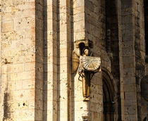 Chartres Sundial by Louise Heusinkveld