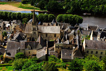 Chinon Village by Louise Heusinkveld