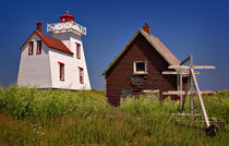 North Rustico Lighthouse by Louise Heusinkveld