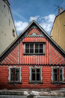 ... Fassade des alten Hauses II. ... von Martin Dzurjanik
