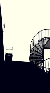 treppen wohin by Bastian  Kienitz