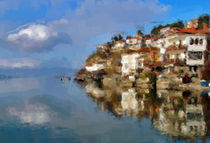 Ohrid lake von Georgi Koncaliev