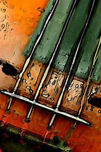 Alte Geige. by Bernd Vagt