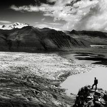 Island: Gletscherzunge von Nina Papiorek