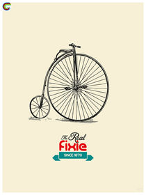 The Real Fixie.  von zyclism