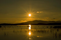 Sunrise over Loch Ba, Highlands. by Buster Brown Photography