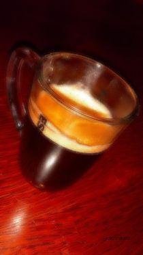 Espresso Glas, Créma 03 von badauarts