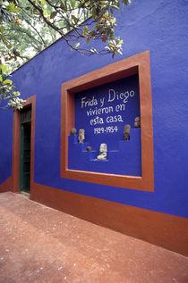 FRIDA KAHLO MUSEUM Mexico City von John Mitchell
