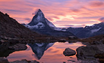 Matterhorn sunset by mark haley