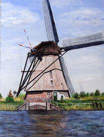Windmühle by Elisabeth Maier