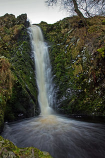 Linhope Spout Waterfall by David Pringle