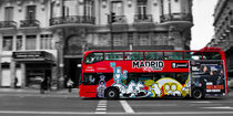 Madrid Bus von David Pringle