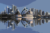 Sydney Skyline von David Pringle