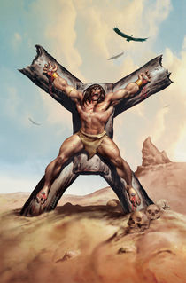 CRUCIFIXION by Benito Gallego