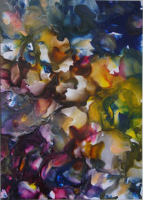 Hortensienblüten von Ulrike Kröll