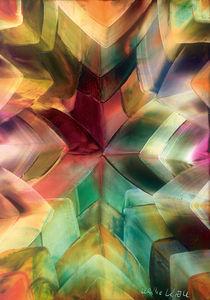 Leuchtende Kristalle von Ulrike Kröll