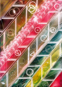 Lichtblicke durch farbige Formen   by Ulrike Kröll