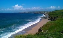Loe Bar to Porthleven by Kristina Trick