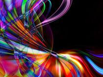 abstract colorful wavy design by Aleksey Odintsov