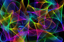 abstract colorful gradient waves von Aleksey Odintsov
