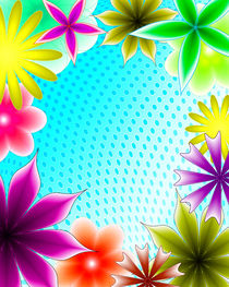 Abstract-gradient-flower-4