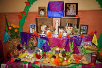 DAY OF THE DEAD ALTAR Mexico by John Mitchell